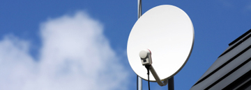 Hinckley Aerials - Digital, Television, Satellite and Sky Aerial Specialists - Image of satellite dish